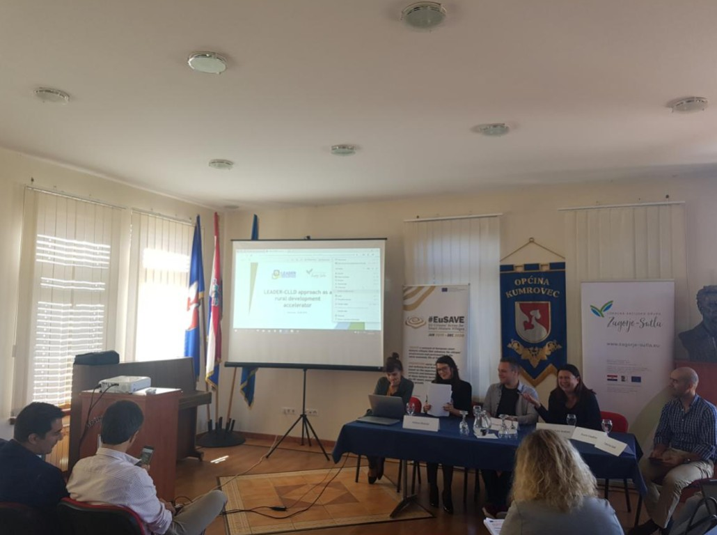 @Kumrovec (Croatia), September 26th 2019: LEADER Network Croatia at the #EuSAVE conference